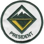Crew President Emblem
